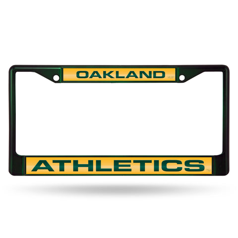 ATHLETICS DARK GREEN LASER COLORED CHROME FRAME
