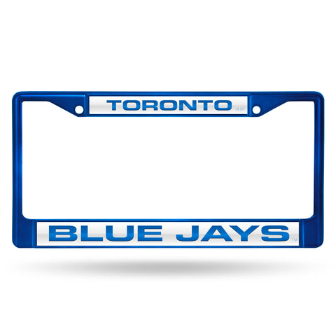 BLUE JAYS BLUE LASER COLORED CHROME FRAME