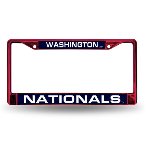 NATIONALS RED LASER COLORED CHROME FRAME