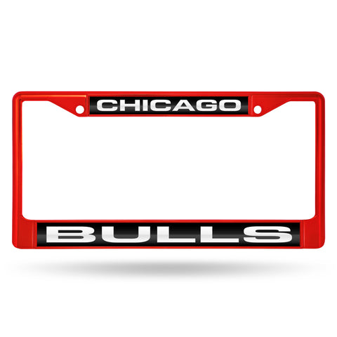 BULLS RED LASER COLORED CHROME FRAME