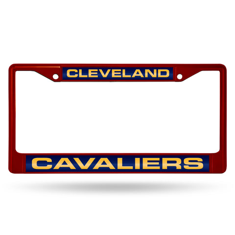 CAVALIERS MAROON LASER COLORED CHROME FRAME