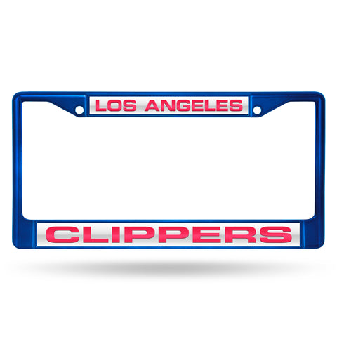 CLIPPERS BLUE LASER COLORED CHROME FRAME