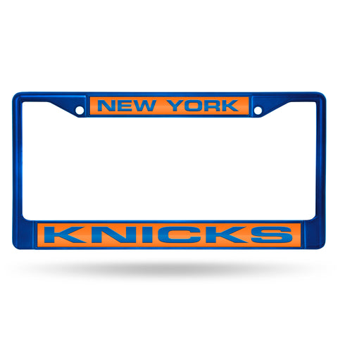 KNICKS BLUE LASER COLORED CHROME FRAME