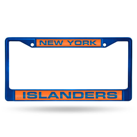 ISLANDERS BLUE LASER COLORED CHROME FRAME