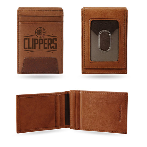 CLIPPERS PREMIUM LEATHER FRONT POCKET WALLET