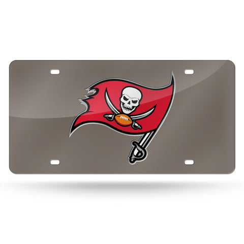 BUCCANEERS FLAG PEWTER LASER TAG