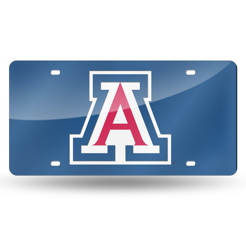 ARIZONA A LOGO BLUE BACKGROUND