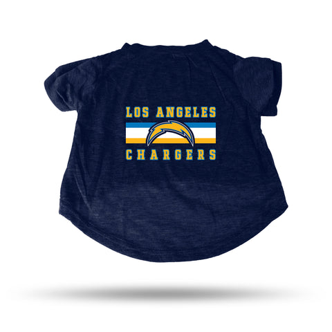CHARGERS NAVY PET T-SHIRT - LARGE