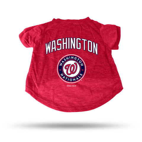 NATIONALS RED PET T-SHIRT - SMALL