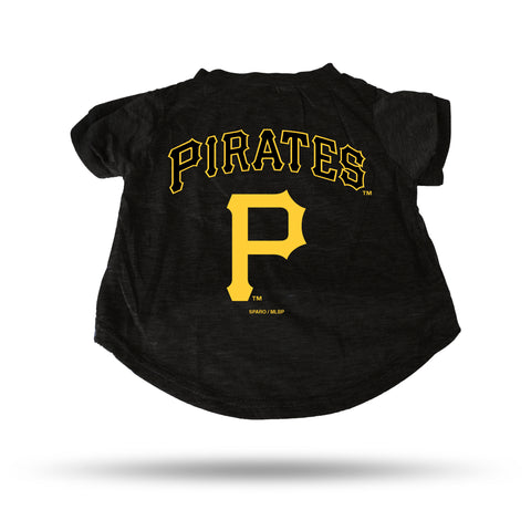 PIRATES BLACK PET T-SHIRT - SMALL