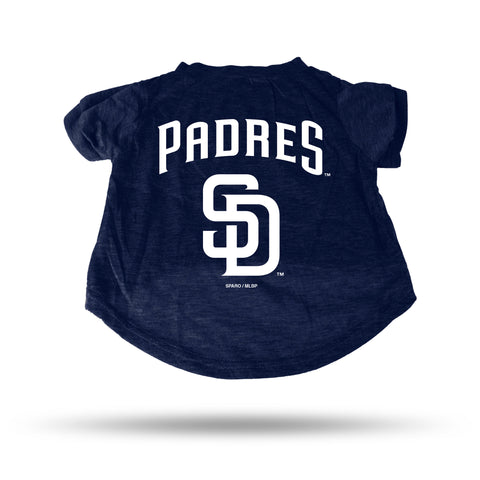 PADRES NAVY PET T-SHIRT - MEDIUM