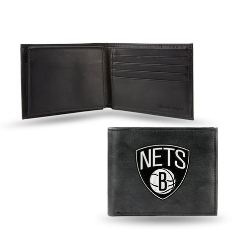 BROOKLYN NETS EMBROIDERED BILLFOLD