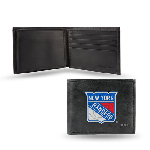 NEW YORK RANGERS EMBROIDERED BILLFOLD