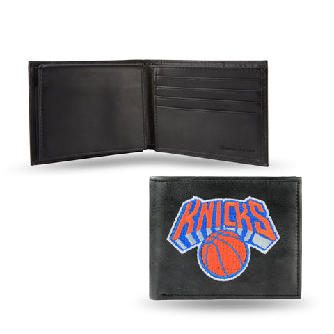 NEW YORK KNICKS EMBROIDERED BILLFOLD