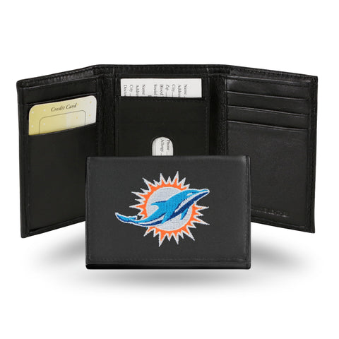 DOLPHINS EMBROIDERED TRIFOLD