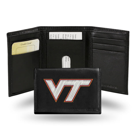 VIRGINIA TECH EMBROIDERED TRI-FOLD
