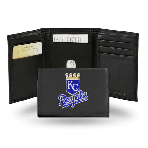 "K.C. ROYALS ""GOLD"" EMBROIDERED TRIFOLD"