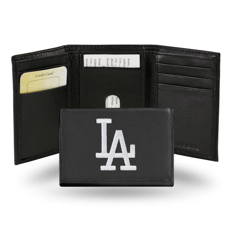 "DODGERS ""WHITE LA"" EMBROIDERY TRIFOLD"