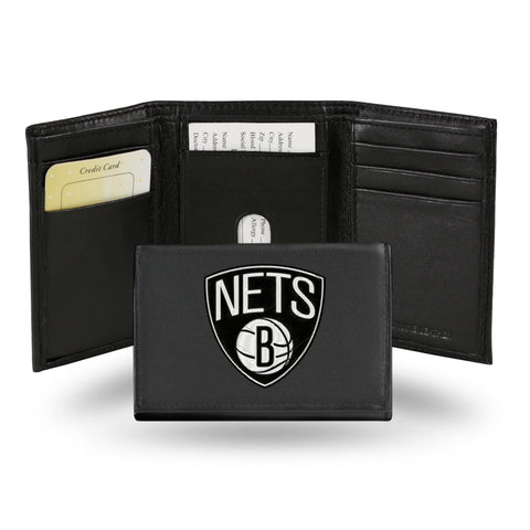 BROOKLYN NETS EMBROIDERED TRIFOLD