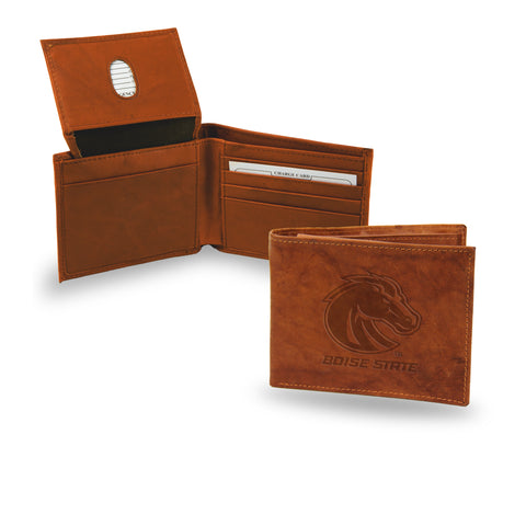 BOISE STATE EMBOSSED LEATHER BILLFOLD