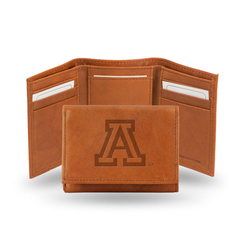 ARIZONA EMBOSSED LTHR TRIFOLD