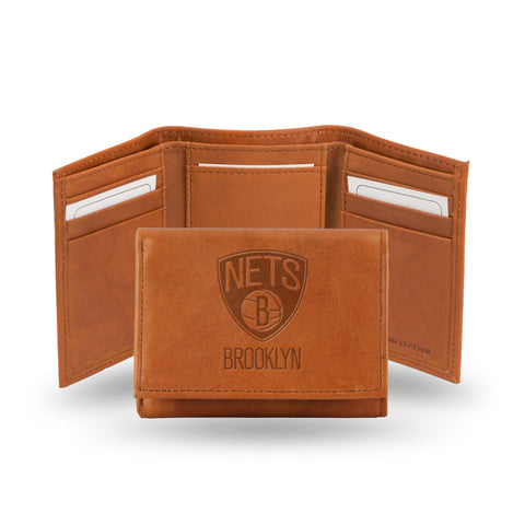 BROOKLYN NETS EMBOSSED TRIFOLD Version 1