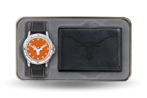 TEXAS BLACK WATCH AND WALLET