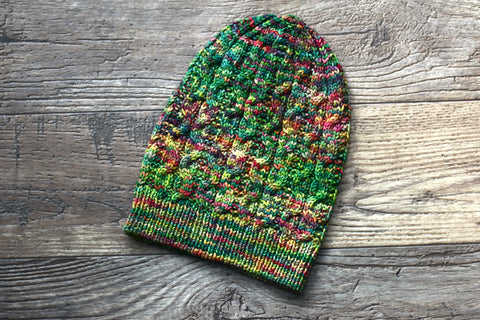 Knit hat pattern - Salem Hat in PDF