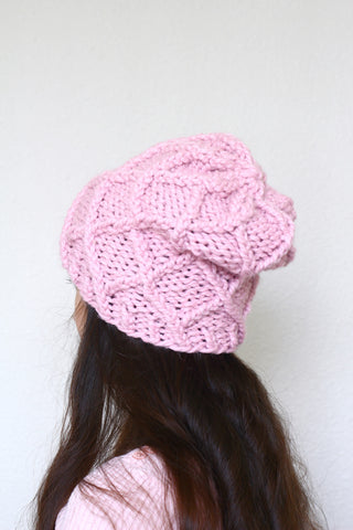 Knit hat pattern Carlin Hat, PDF pattern
