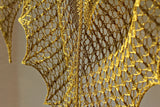 Knit shawl pattern Butterflies in Nets