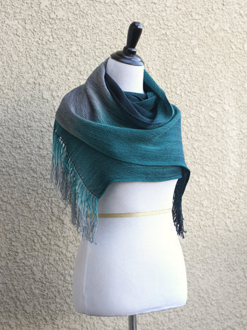 Dark teal wrap