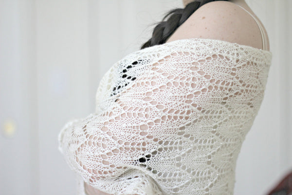 Wedding shawl pattern