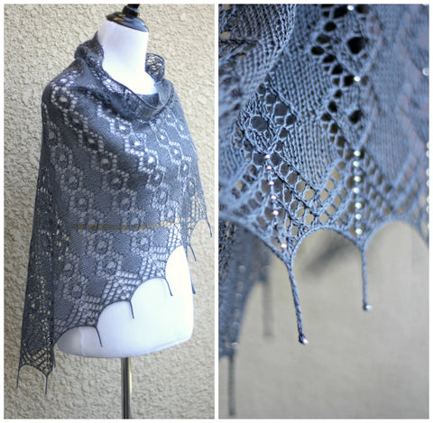 Morning Dew shawl pattern