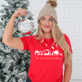 Red TRUE STORY of CHRISTMAS T-Shirt