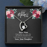 "Mother's Day ""I Carry You In My Heart"" Forever Love Necklace"
