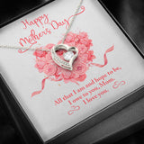 "Mother's Day ""All That I Am"" Forever Love Necklace"