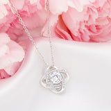 "Mother's Day ""All That I Am"" Love-Knot Necklace"