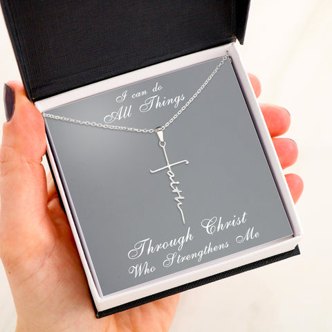 I CAN DO ALL THINGS - FAITH NECKLACE