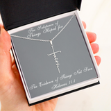 The Substance Of Things Hoped For FAITH Necklace
