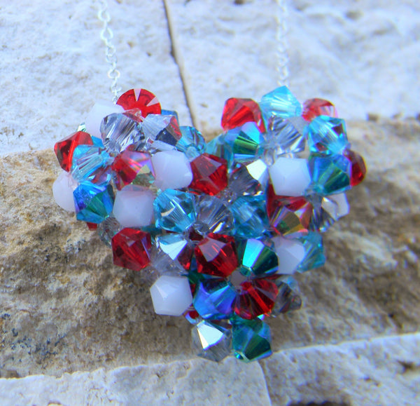 Celebration - My Heart Crystal Pendant - Celebration