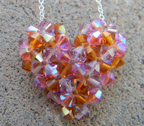 Custom Hearts - Birthstone Heart       (3-Color)
