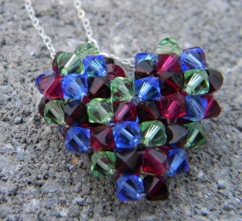 Custom Hearts - Birthstone Heart (4-Color)