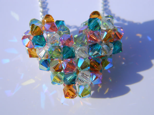 Custom Hearts - Birthstone Heart (5-Color)