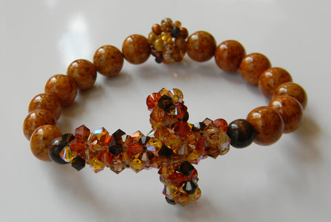 My Cross Crystal Bracelet - My Cross Crystal Bracelet - My Harvest
