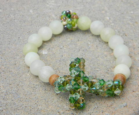 My Cross Crystal Bracelet - My Cross Crystal Bracelet - My Hope