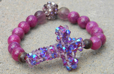 My Cross Crystal Bracelet - My Cross Crystal Bracelet - My Joy