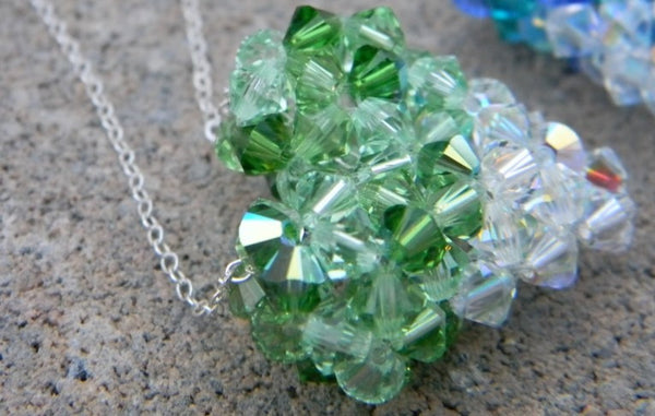 My Heart Crystal Pendant - My Heart Crystal Pendant - Crystal Green