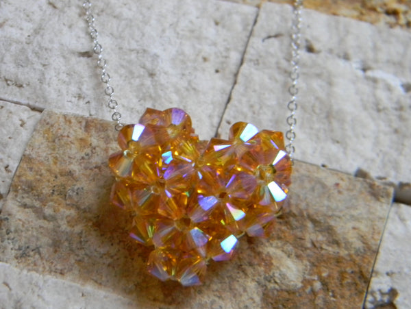 My Heart Crystal Pendant - My Heart Mini - Sun Star