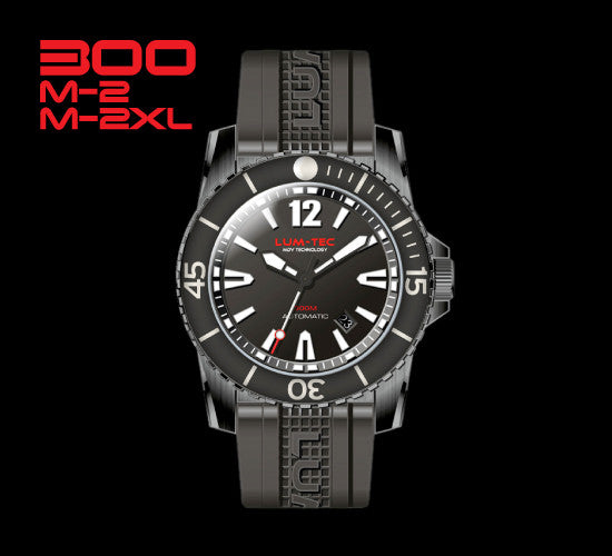 300M-2 and M-2XL Black PVD