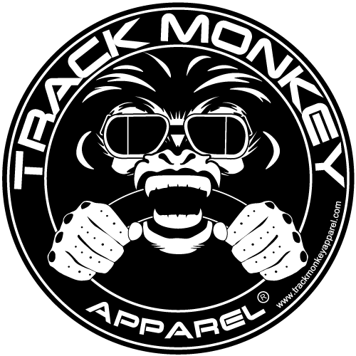 Track Monkey Logo Sticker
